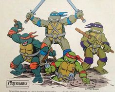 TMNT Playmates Art