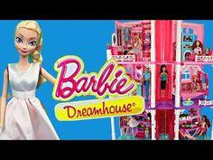 Frozen Disney Elsa and Shopkins with Frozen Kids Alex Shopping Cleans Barbie Bathroom for Shopkins - YouTube
