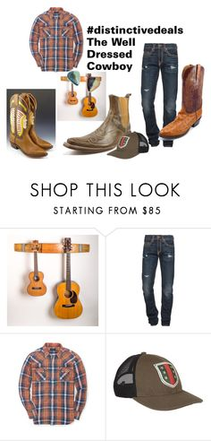 """""""Well Dressed Cowboy"""" by distinctivedeals on Polyvore featuring Mark Nason, True Religion, Ralph Lauren, Gucci, men's fashion and menswear"""