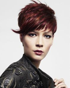 Latest Short Hairstyles With Layers For 2017 - Hairstyles Style Hair Latest Short Hairstyles, Cute Hairstyles For Short Hair, Trendy Hairstyles, Straight Hairstyles, Brown Hairstyles, Edgy Short Hair, Short Brown Hair, Short Hair Cuts, Hot Hair Styles