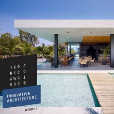 Proud to have received the  ICONIC AWARDS 2019 | Innovative Architecture | Project: Caravia Beach Junior Suites & Maina Gastro Bar Many thanks to @mastrominas_architecture, the jury of @iconic_awards and to the German Design Council!  #kos #greece #caraviabeach 📷 Yiorgis Yerolympos and @gpapapostolou.photo Innovative Architecture, Community Activities, Beach Hotels, Kos, Bungalow, Innovation, Greece, Awards, German
