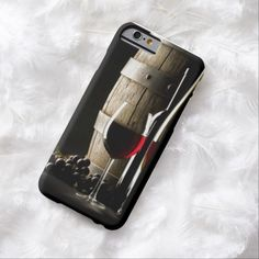 iPhone 6 Cases   Wine glass and barrel iPhone 6 case
