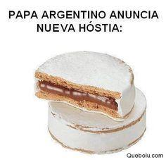 Papa Argentino anuncia nueva hóstia