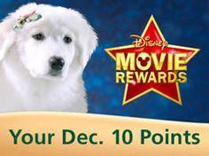 5 FREE Disney Movie Rewards Points (Day 10) on http://www.icravefreebies.com/