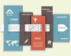 モダンなデザインのテンプレートです。グラフィックやウェブサイトのレイアウト photo