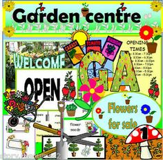 GARDEN CENTRE ROLEPLAY TEACHING RESOURCES EYFS KS1 GROWING SPRING SUMMER GARDEN | eBay