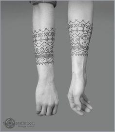 Lithuanian tattoo: