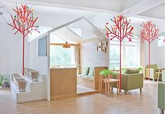 YAMODesign Studio have designed the Kale Café in Hangzhou, China.