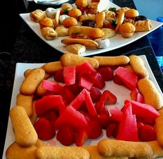 fruits and sweets