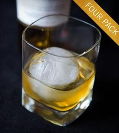 Whiskey Ball Round Ice Molds -4 Pack