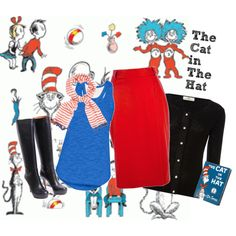 """""""The Cat in The Hat"""" by mysticiris on Polyvore"""