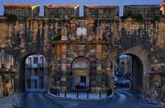 St Helen's Gate in Cospicua. Malta History, Italian Honeymoons, Malta Gozo, Malta Island, Mediterranean Sea, Archipelago, Beautiful Islands, Maltese, Sicily