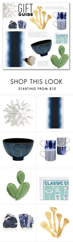 """""""Gift Guide"""" by hellodollface ❤ liked on Polyvore featuring Arteriors, ferm LIVING, Red Vanilla, Stuart Gardiner, Anna New York, Mapleton Drive and giftguide"""