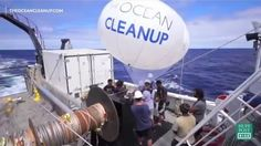 Who says anything about being 'too young'? Seeing more plastic bags than fish when diving, he came upon the idea of cleaning up the oceans.