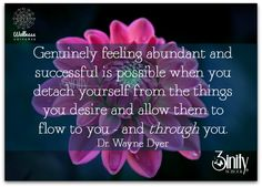 Let it flow to and through you. #3inity #waynedyer #positivethought #inspirational #wordsofwisdom #positivevibes