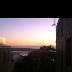 First sunrise of 2012 for Sydney.