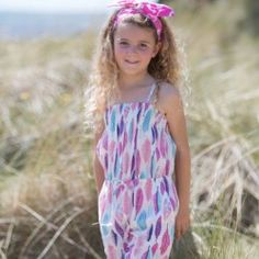 Kite Kids - navaho playsuit - multi - Little GEMS Boutique - 4 Playsuits, Kite, 6 Years, Summer Collection, Navajo, Cool Kids, Kids Fashion, Tie Dye, Jumpsuit
