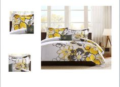 4 Piece Comforter Set Home Bedroom Sleep Decor Teen Kids
