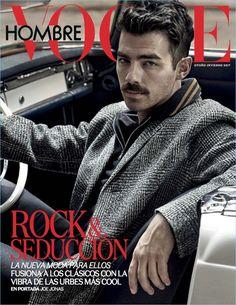 Joe Jonas 2017 Vogue Hombre Cover