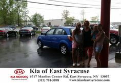 My overall rating of Kia of east Syracuse is excellent. A salesperson by the name of Justin helped me buy a used car and the service he gave to my family and I was excellent. I will definitely be recommending Justin and Kia of East Syracuse to my friends and family and I will be returning next time I buy a new car.-Wendy Hinkle, Monday, May 11, 2015  http://www.kiaofeastsyracuse.com/?utm_source=Flickr&utm_medium=DMaxxPhoto&utm_campaign=DeliveryMaxx