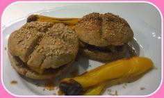 No gluten! Yes vegan!: Panini con ripieno di peperoni e salsa agrodolce