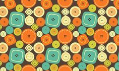 250+ Retro Patterns for a Vintage Look #Art #Design