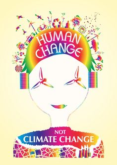 This is what is ultimately needed. Human change will correct the changes in climate we are seeing. Its not a difficult concept. (April 15, 2014)