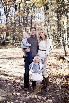 neutral tones for family photo