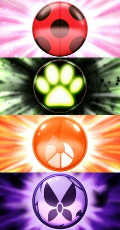 #MiraculousLadybug symbols