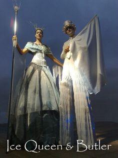 Edinburgh Performers - Stilt Walkers