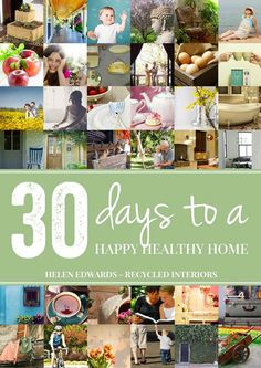 Do you want to create a healthy happy home you love? Grab our FREE downloadable eBook - 30 Days to a Healthy Happy Home and get started here - it is totally FREE! Do you feel like things are a little out of control at home? Maybe you want to make changes but feel like they all have to be HUGE and cost LOTS? This is the e book version of my 30 days to a happy healthy home challenge with all the challenges in one place PLUS additional content. In this 30 days to a happy healthy home challenge…