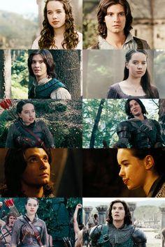 The Chronicles of Narnia: Prince Caspian Susan and Caspian memories.