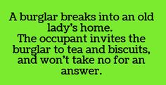 Tea and biscuits.