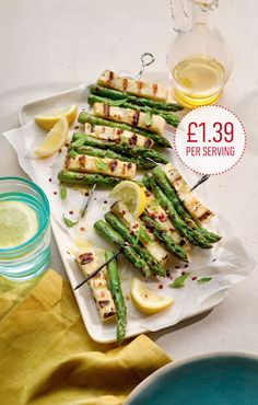Asparagus and halloumi skewers - May 2014