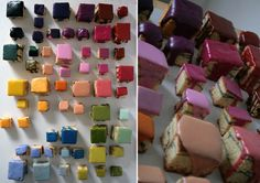 Rainbow Petits Fours by House of Origin