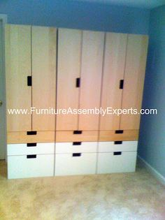 ikea Stuva Storage Combination Assembled in Alexandria Virginia by Furniture Assembly Experts company