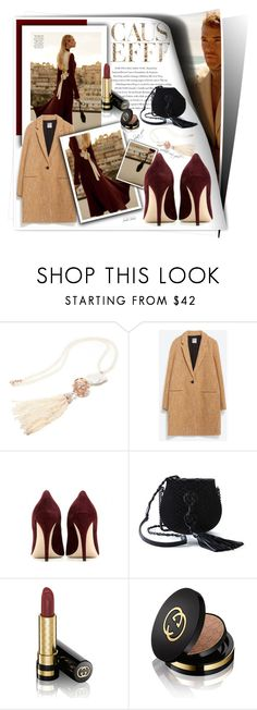 """#316"" by monazor ❤ liked on Polyvore featuring Envi, Zara, Miu Miu, Yves Saint Laurent, Lutz Huelle and Gucci"