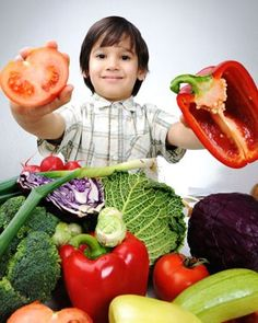 A veritable garden of delicious, healthy veggies! What to pick? #KidsEatingVeggies