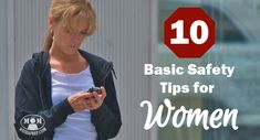 Are you neglecting these 10 Basic Safety Tips for Women! Get the lowdown on how to protect yourself better, everyday! Self Defense Women, Self Defense Tips, Self Defense Weapons, Personal Security, Personal Safety, Damsel In Defense, Lightning Rod, Street Fights, How To Protect Yourself