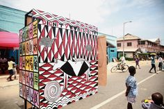 "The Artists Of Accra's Chale Wote Street Festival Interpret ""African ..."
