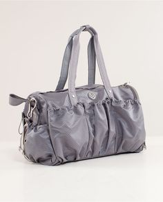 I need a Lululemon bag for all my Lululemon gear! :) My next purchase!