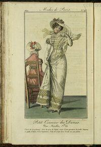 Petit Courrier des Dames : annonces des modes, des nouveautés et des arts del 20 de Abril de 1822