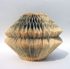 folded books by effemera, detail