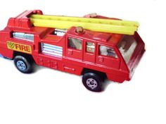 MATCHBOX No 22 BLAZE BUSTER FIRE Lesney 1975 Excellent to NR/MINT