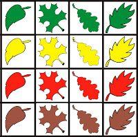 Fejlesztő Műhely: Fejlesztő ötletek Color Activities, Autumn Activities, Preschool Activities, Autumn Leaves Craft, Fall Games, Tree Study, Printable Preschool Worksheets, Coding For Kids, Leaf Crafts