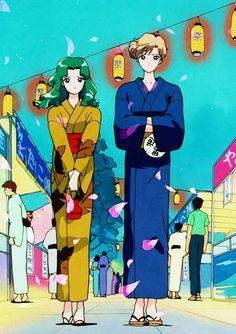 Michiru / Neptune x Haruka / Uranus