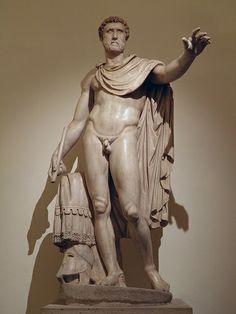 Antoninus Pius, Palazzo Altemps, Rome What Is Sculpture, Sculpture Art, Ancient Rome, Ancient Art, Standing Buddha Statue, Antoninus Pius, Romanesque Art, Wind Sculptures, Art Rules