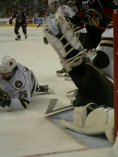 Braden Holtby making a save