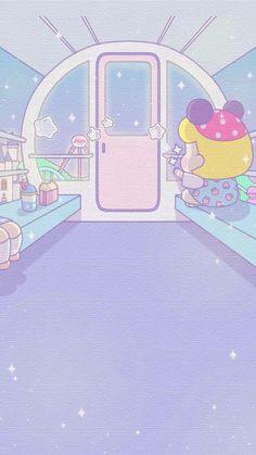 壁纸 Pastel Wallpaper, Kawaii Wallpaper, New Wallpaper, Wallpaper Backgrounds, Iphone Wallpaper, Cartoon Town, Cute Cartoon, Pink Tumblr Aesthetic, Pink Aesthetic