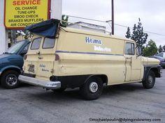 Helm's Bakery Truck